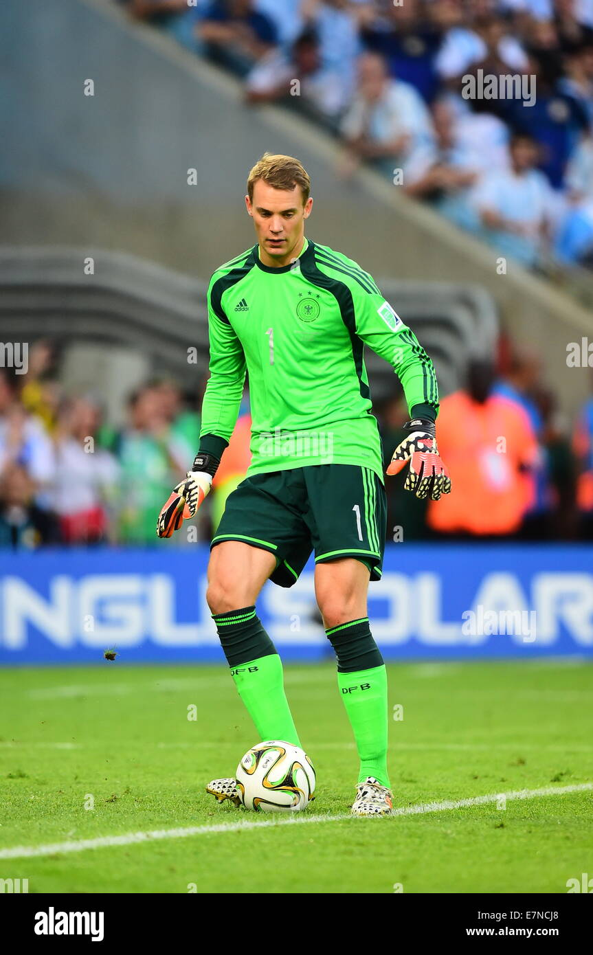 Manuel NEUER. Argentina v Germany. Final. FIFA World Cup ...  Manuel NEUER. A...