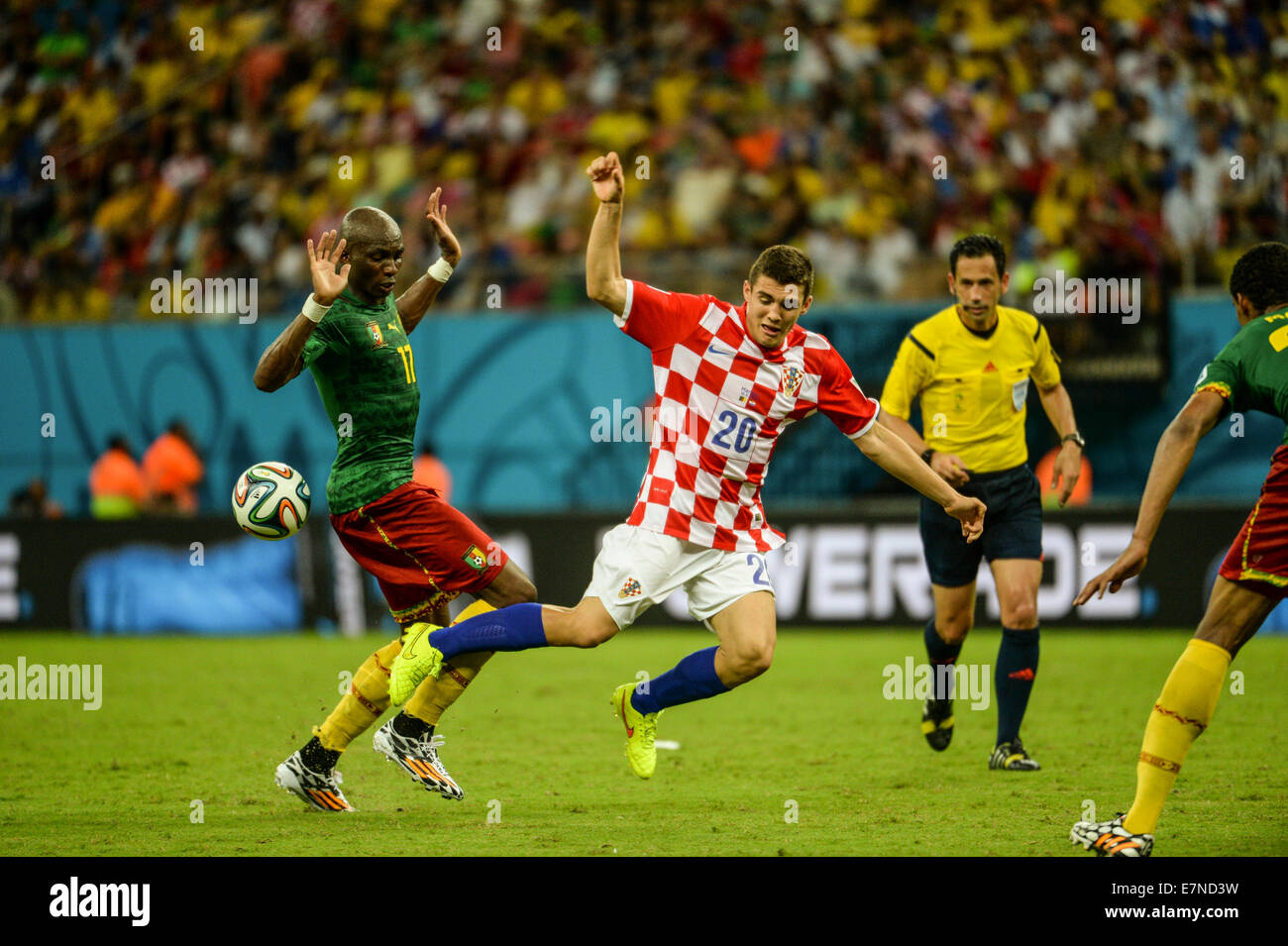 ed403623c5d Croatia v Cameroon. Group match. FIFA World Cup 2014 Brazil. Arena  Amazonia