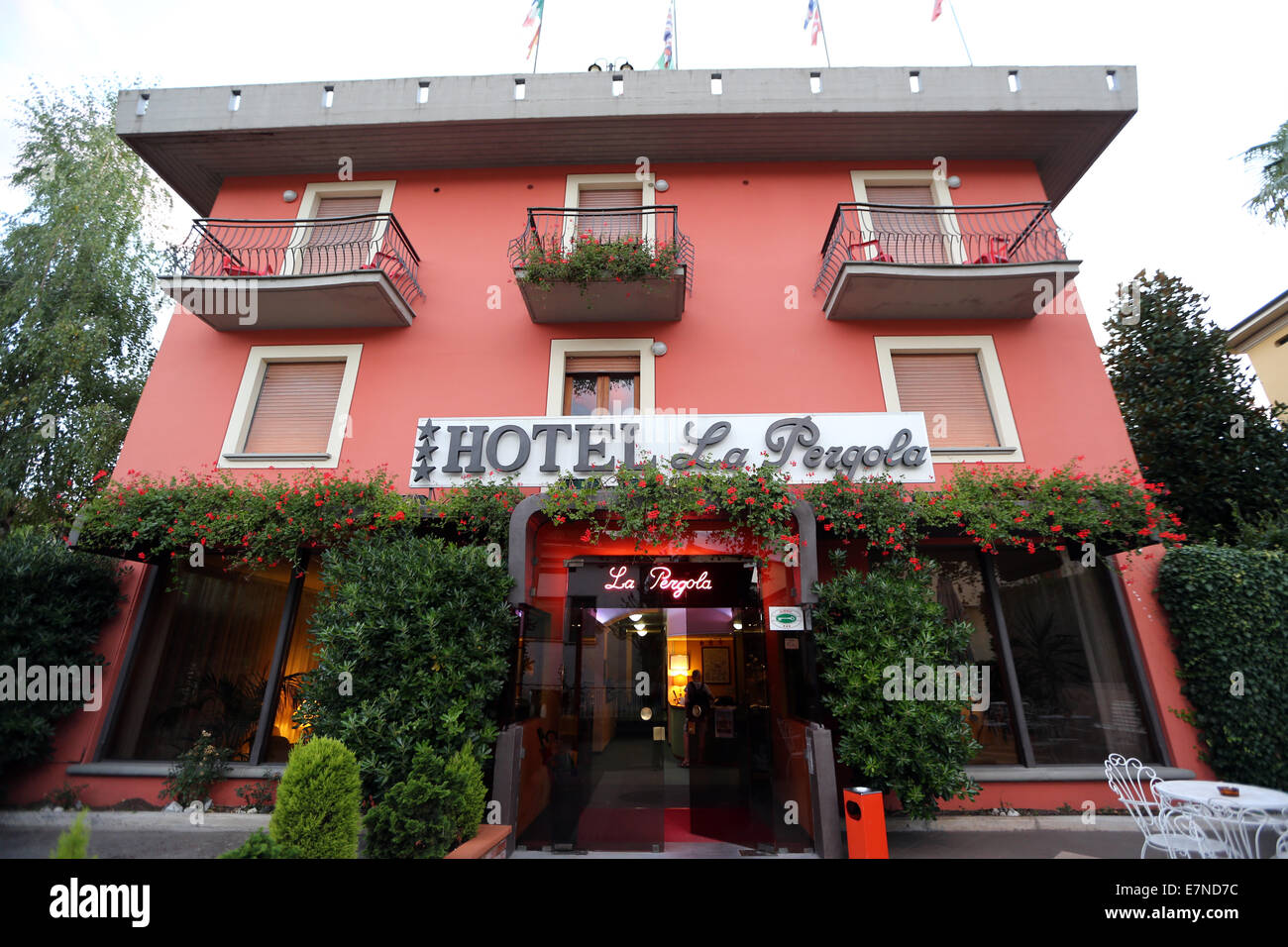 Hotel La Pegola, Barga, Tuscany, Italy, holiday, weekend break, weekend retreat, bed and breakfast - Stock Image