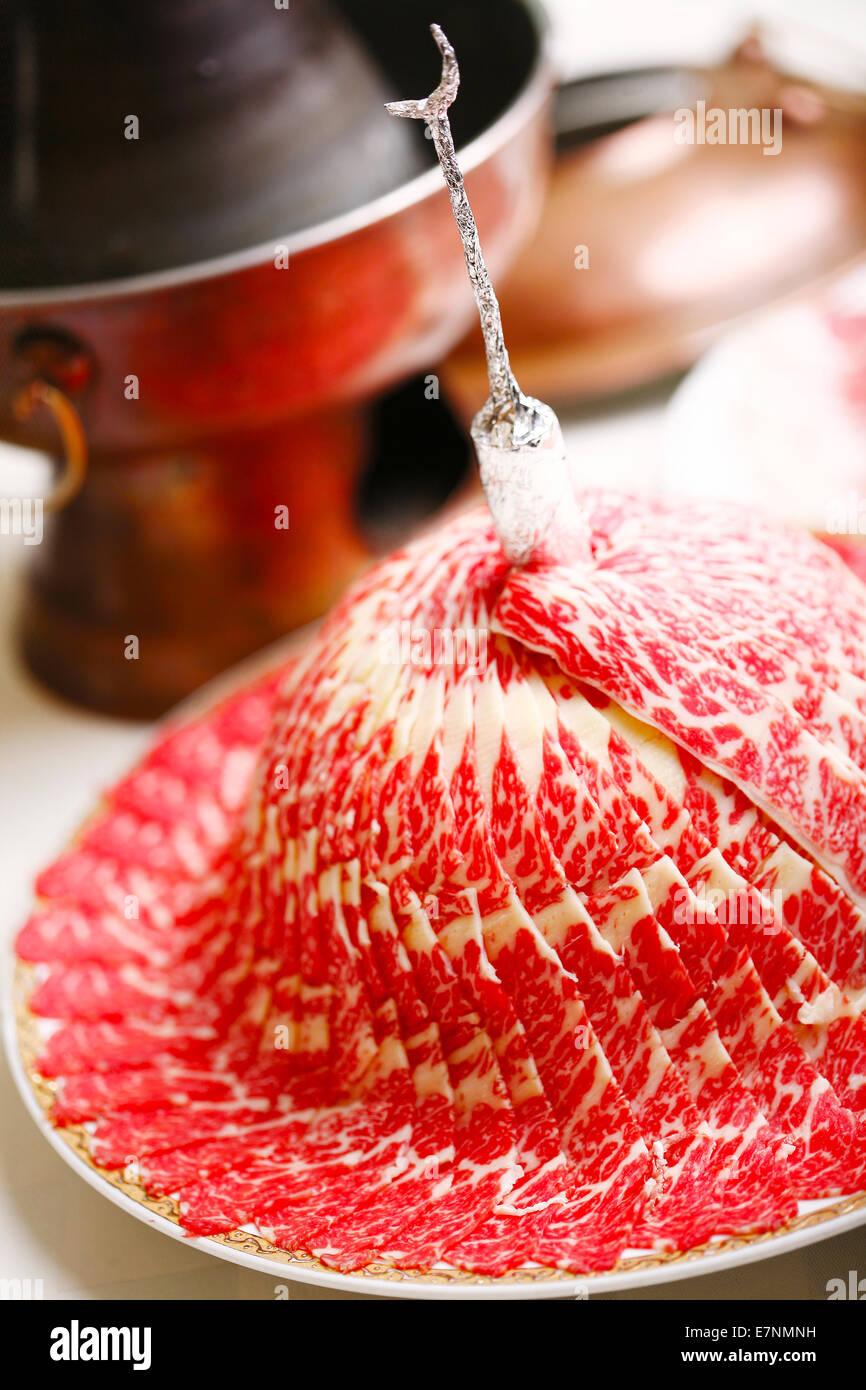 Hot pot - Stock Image