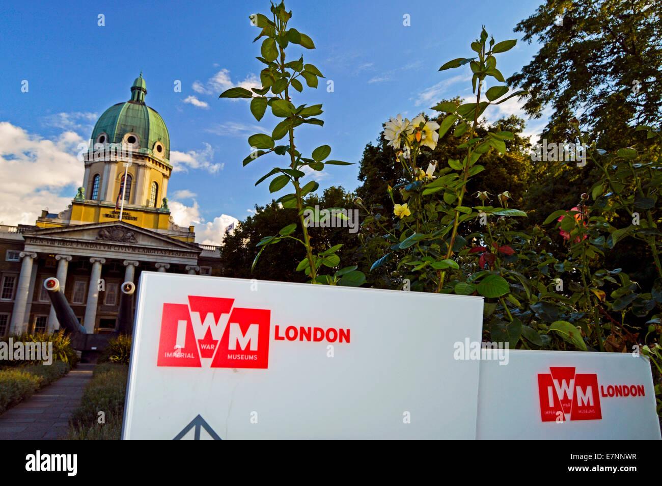 The Imperial War Museum (IWM), London Borough of Lambeth, London, England, United Kingdom - Stock Image