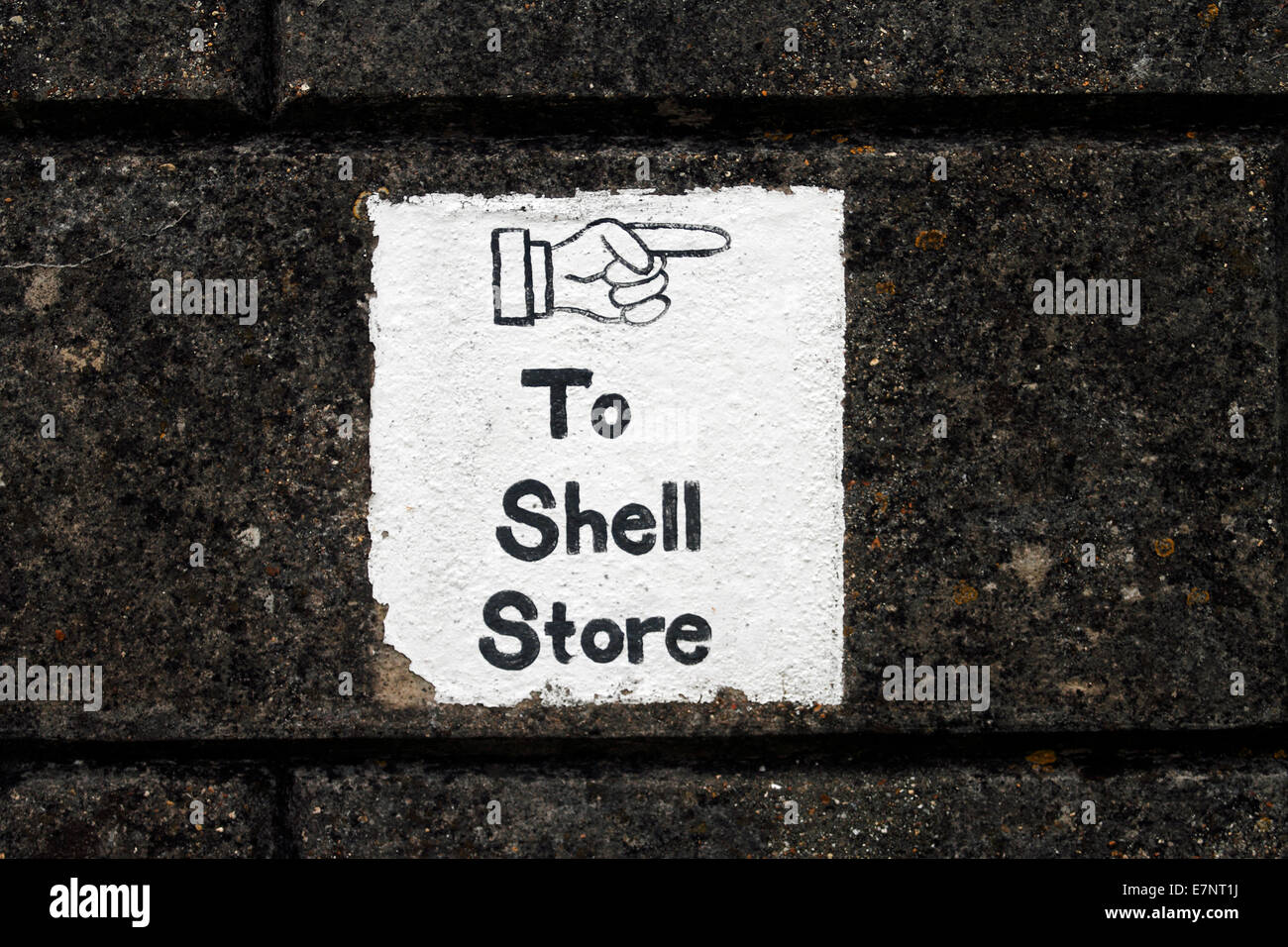 Shell store no. 7 for 64 pdr RML and 7 inch RBL Guns Fort Nelson - Stock Image