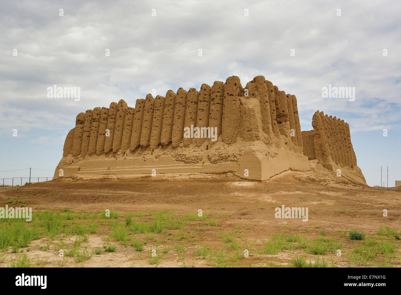 Ancient, Kyz- Kala, Merv, Turkmenistan, Central Asia, Asia, archaeology, architecture, big, city, culture, history, - Stock Image