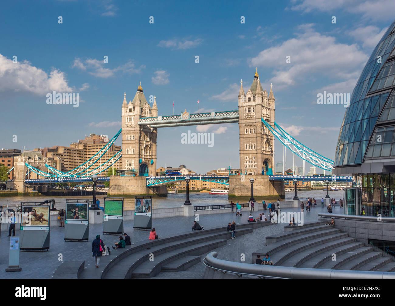 City London England UK Architecture Bridge Famous River Tourism Travel Tower