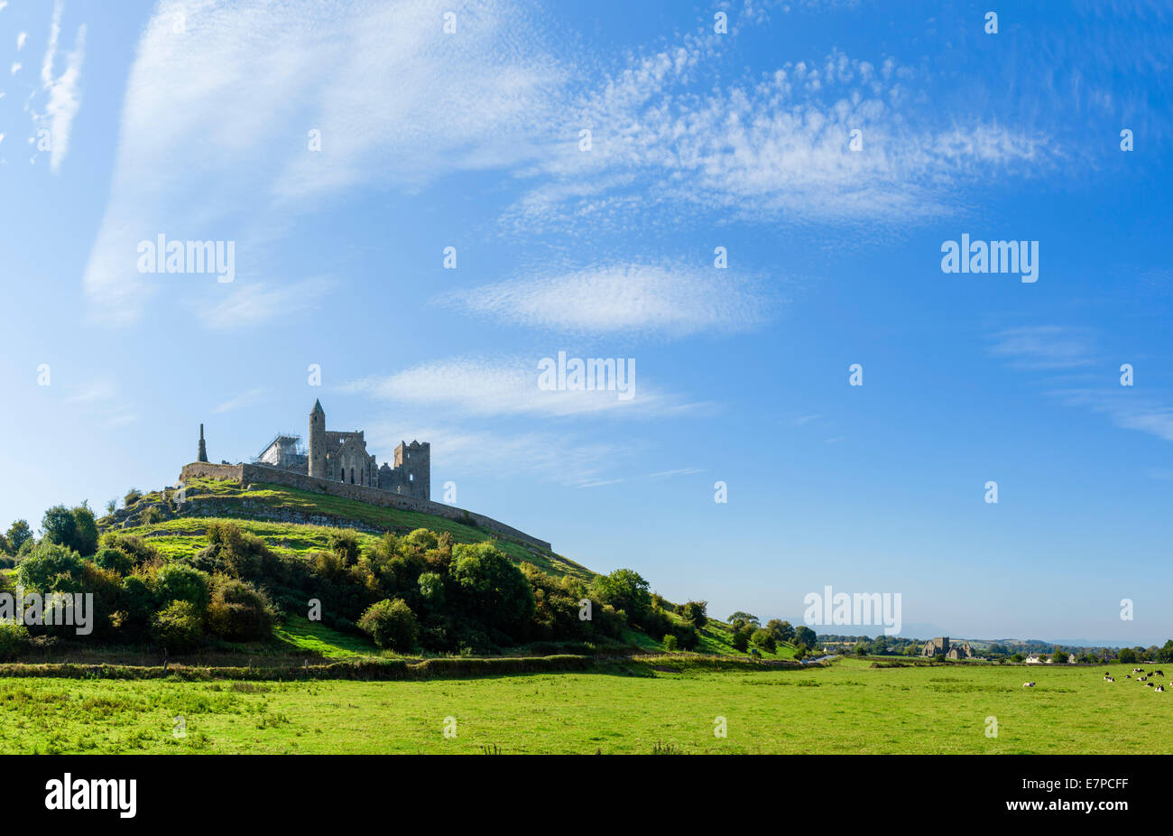 The Rock of Cashel, County Tipperary, Republic of Ireland - Stock Image