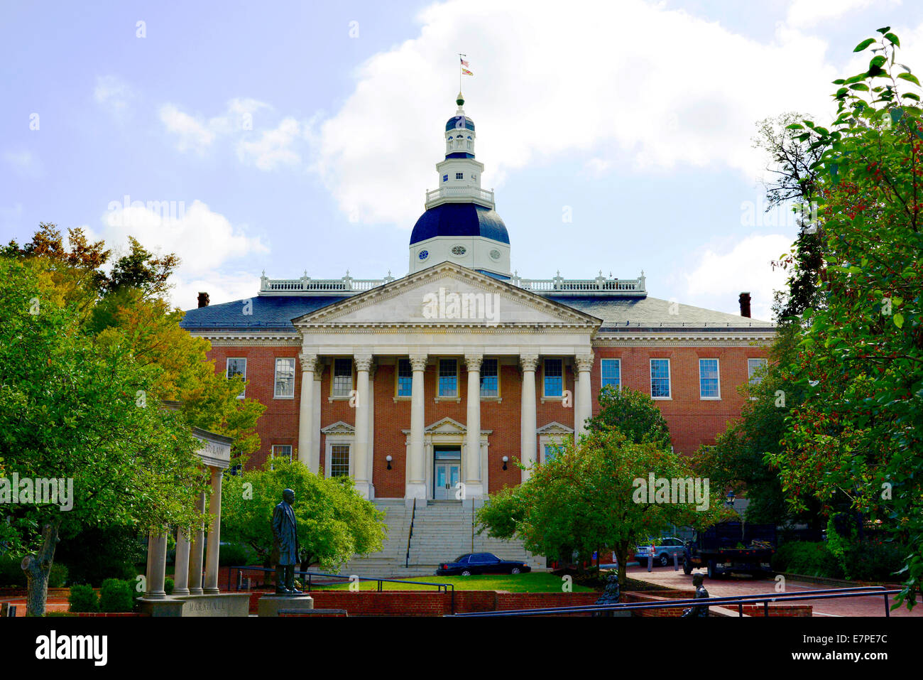 Pic Of The Maryland State Captital Building