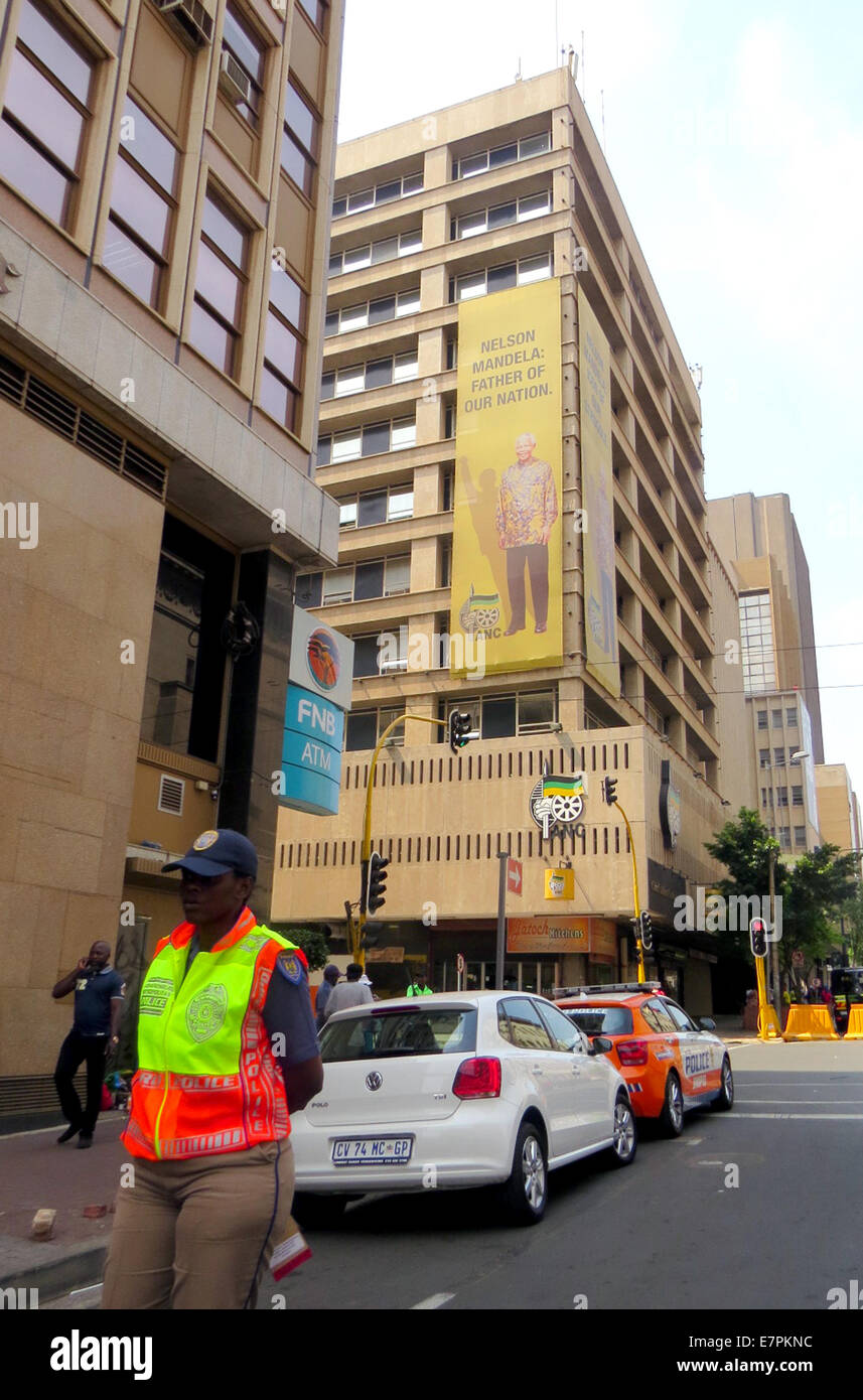 ANC (African National Congress) headquarters in Luthuli House, 54 Sauer Sreet, Johannesburg. Photo Tony Gale - Stock Image