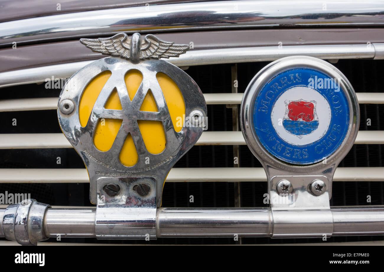 Old metal aa badge dating