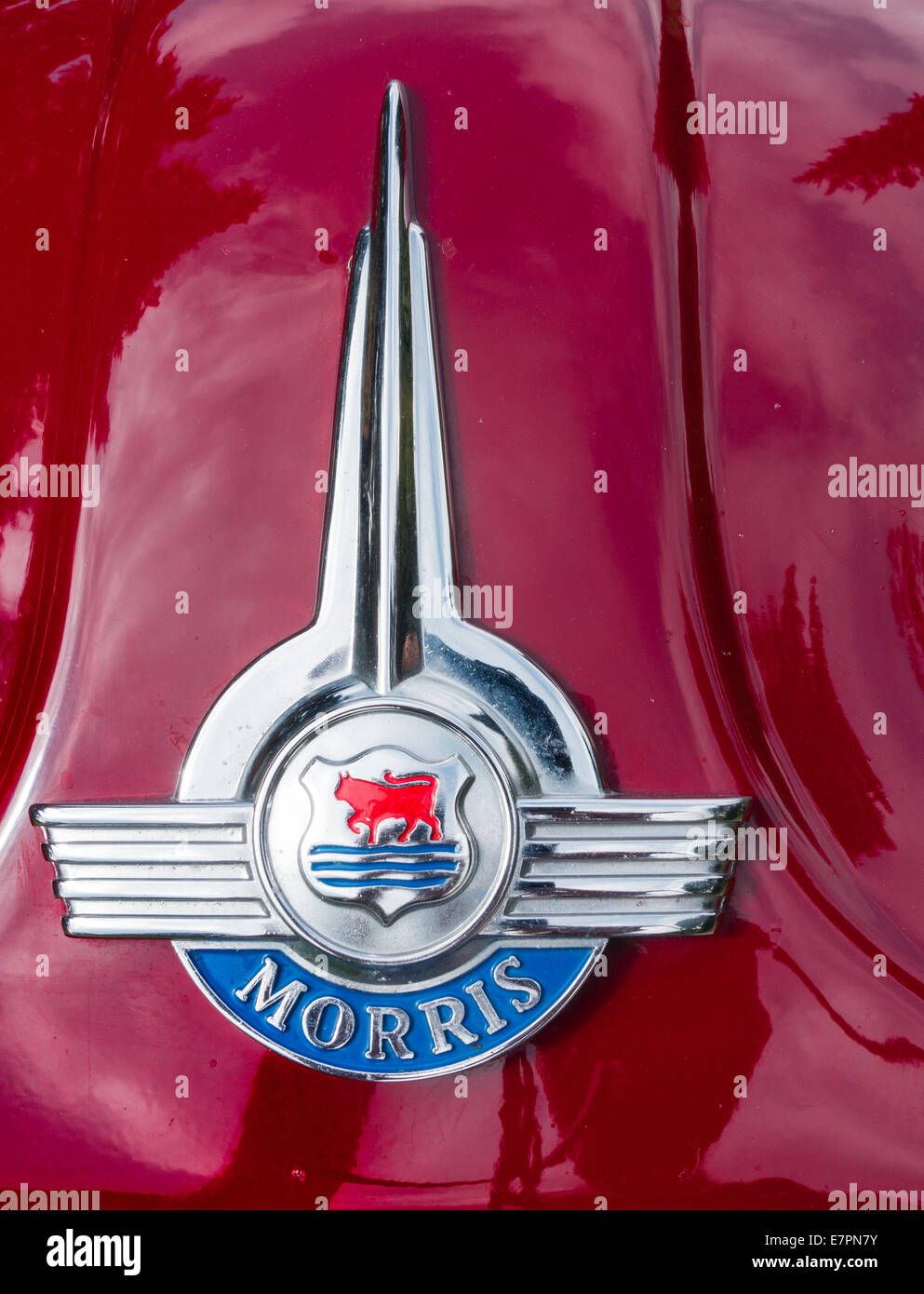 Vehicle Parts & Accessories Vintage Classic Morris Bonnet Badge