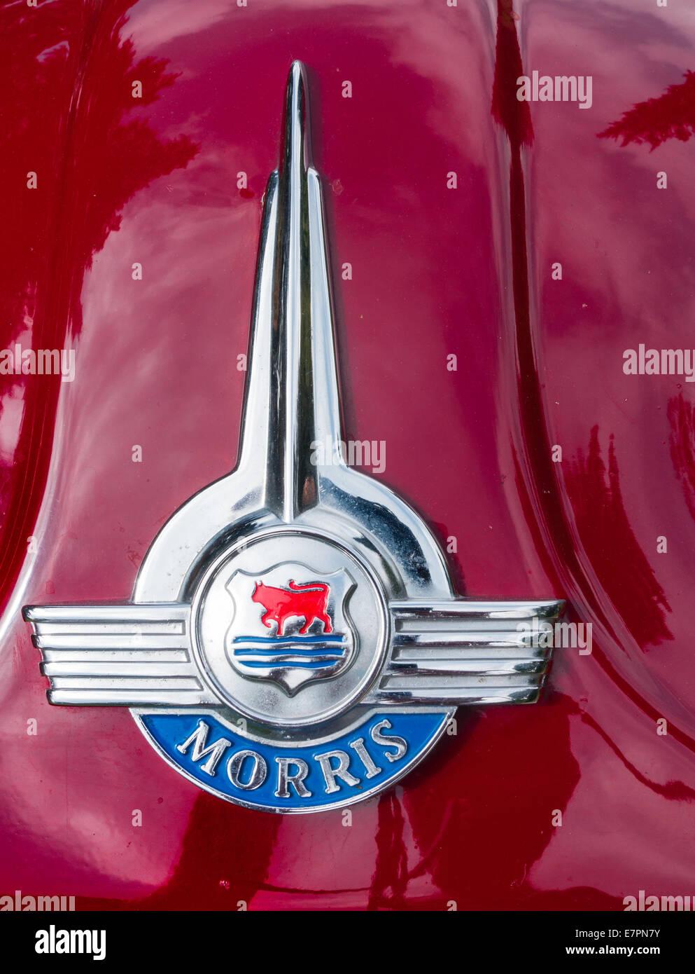 Vintage Classic Morris Bonnet Badge Automobilia Vehicle Parts & Accessories