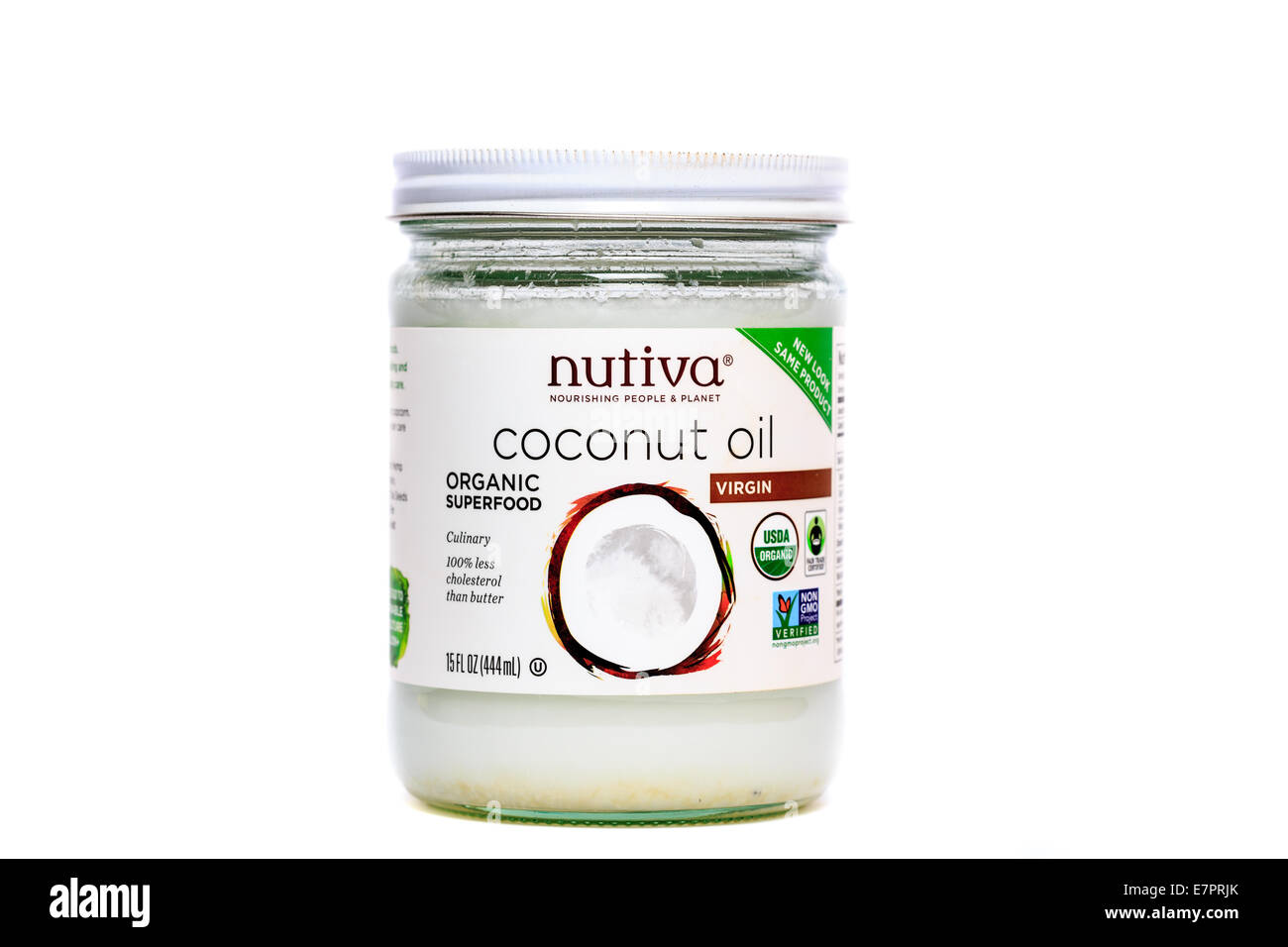 Coconut Oil Cut Out Stock Images Pictures Alamy