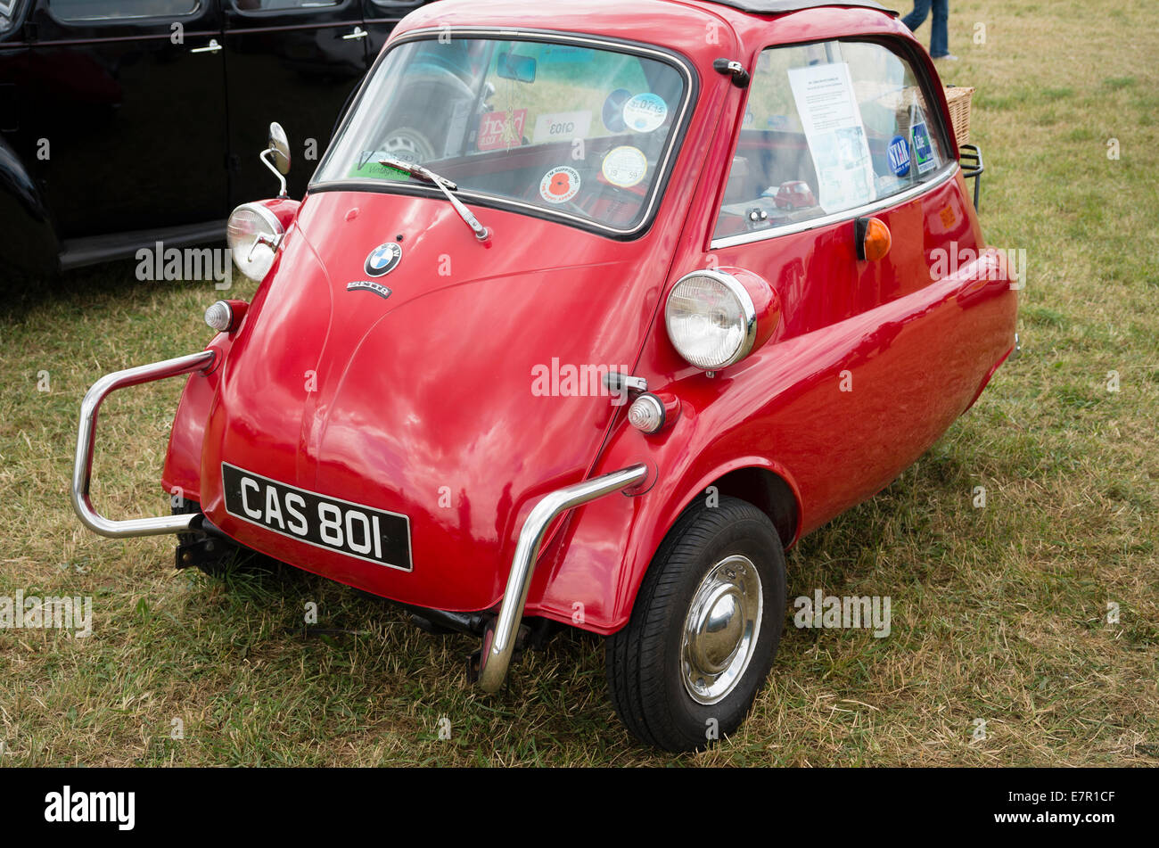 Old Bmw Isetta Bubble Car From 1950s On Show In Uk Stock