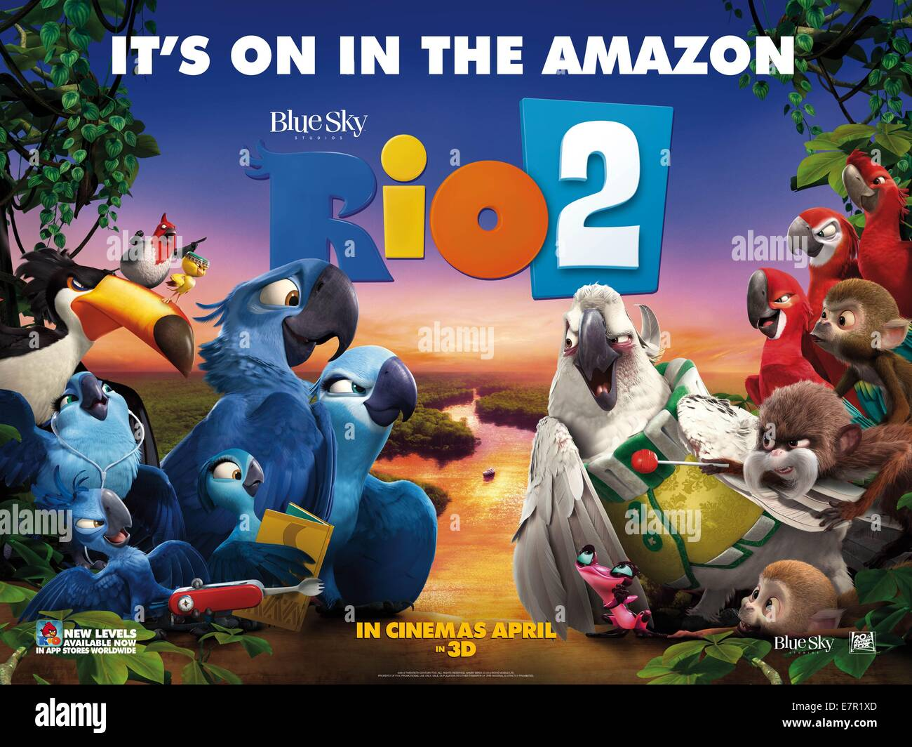 Rio 2 Movie High Resolution Stock Photography And Images Alamy