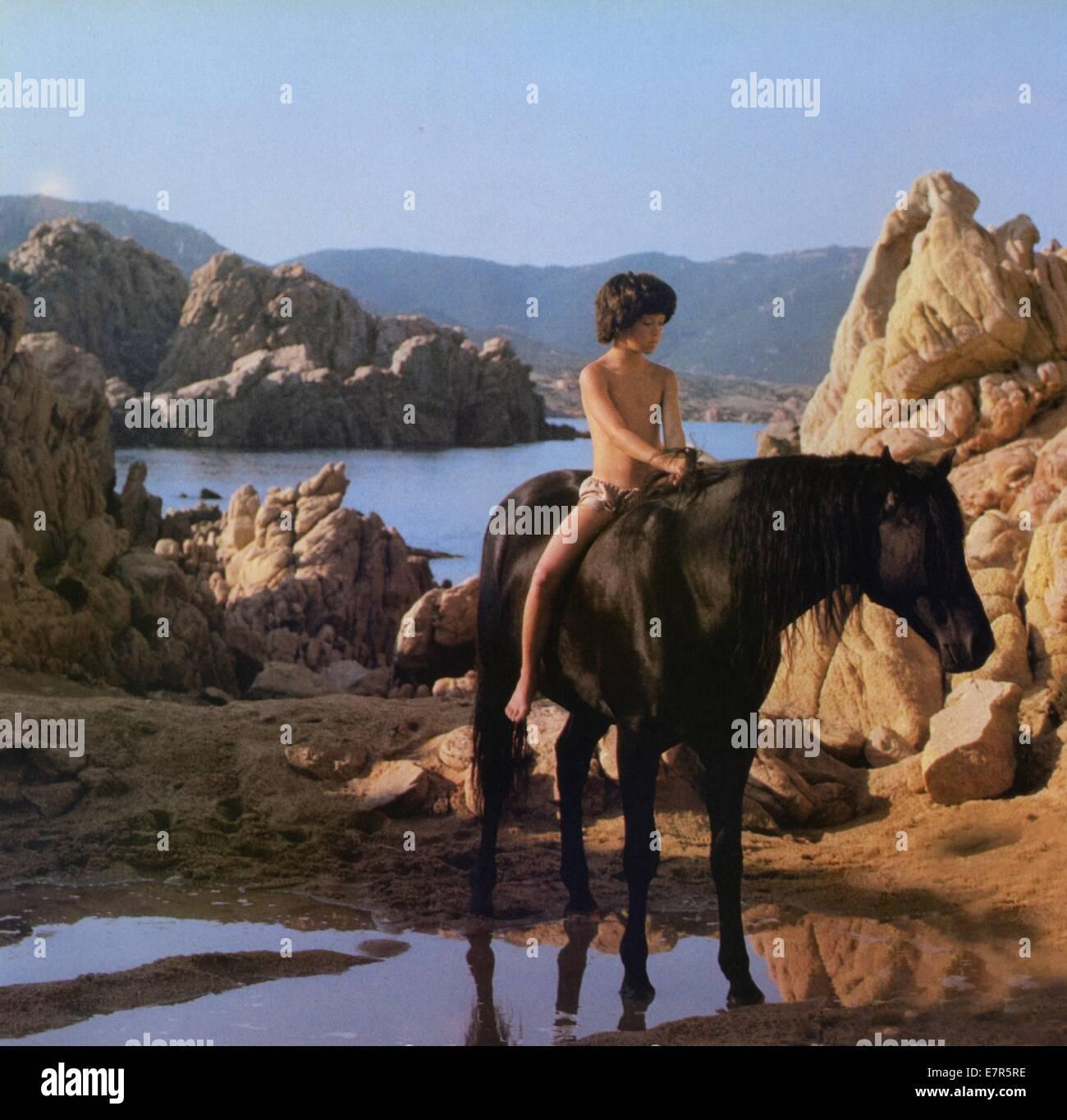 The Black Stallion  Year : 1979 USA Director : Carroll Ballard - Stock Image