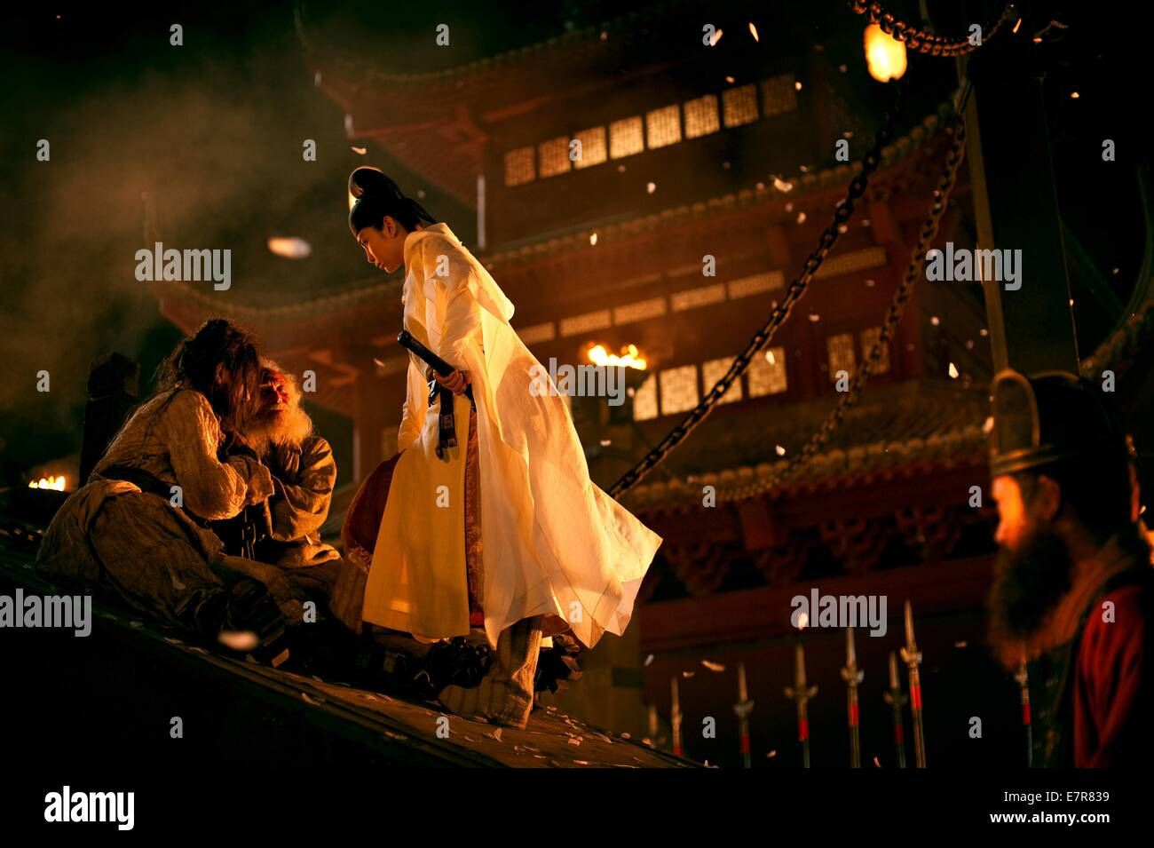 Di Renjie: Tong tian di guo Detective Dee and the Mystery of the Phantom Flame Year : 2010 China / Hong Kong Director - Stock Image