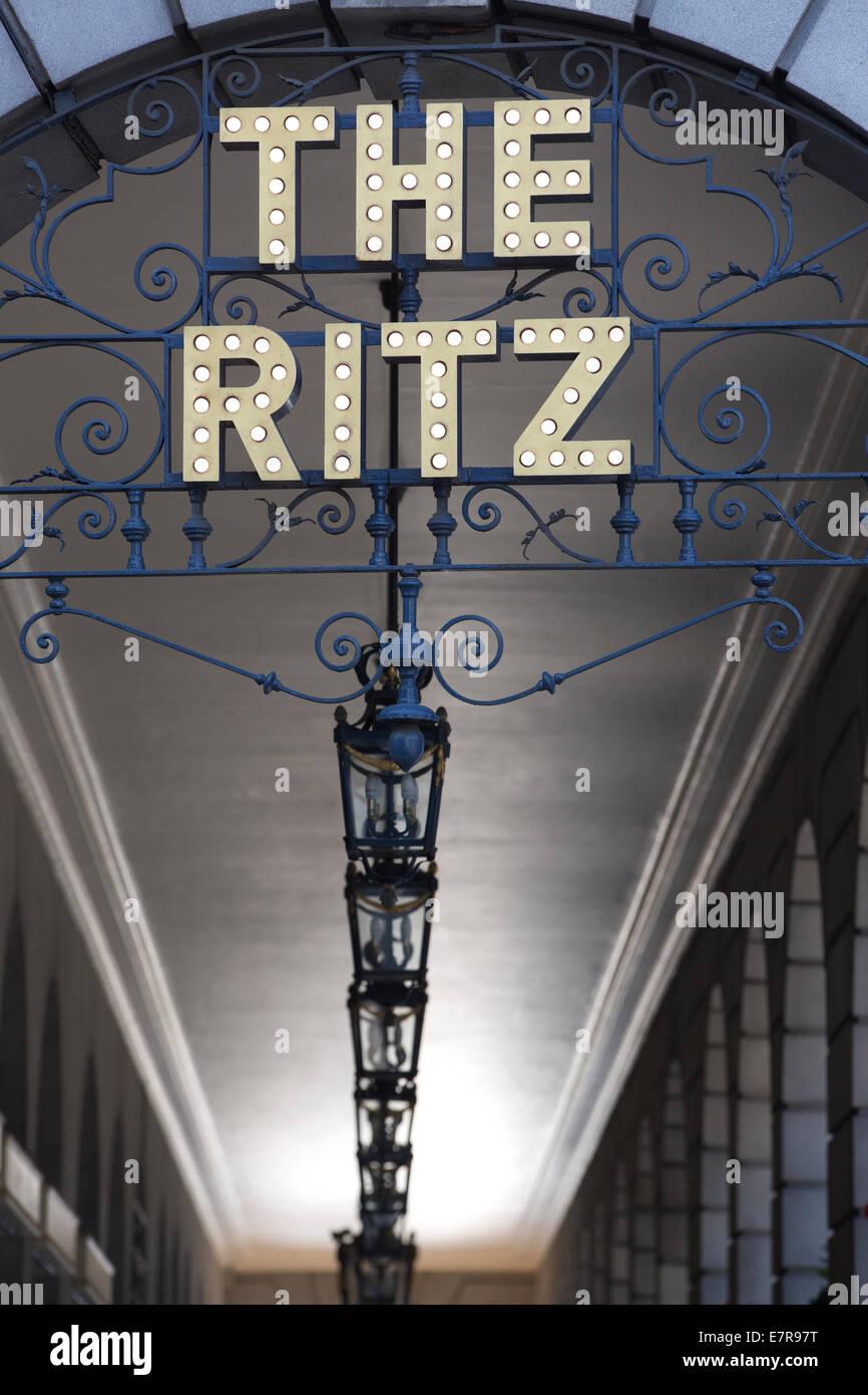 The Ritz Hotel London, 150 Piccadilly, London, England, UK - Stock Image