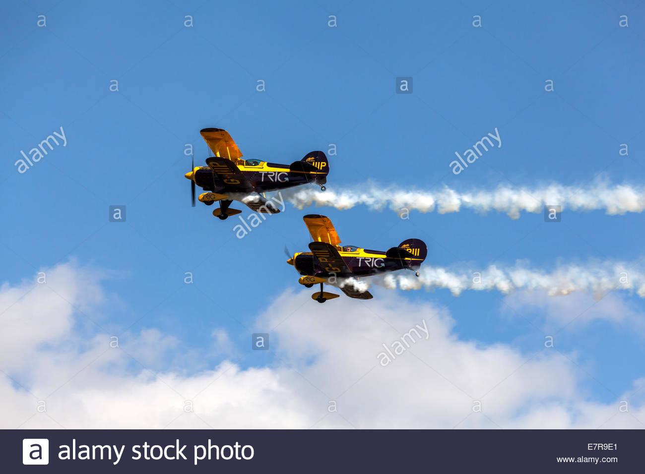 Trig Aerobatic Team - Stock Image