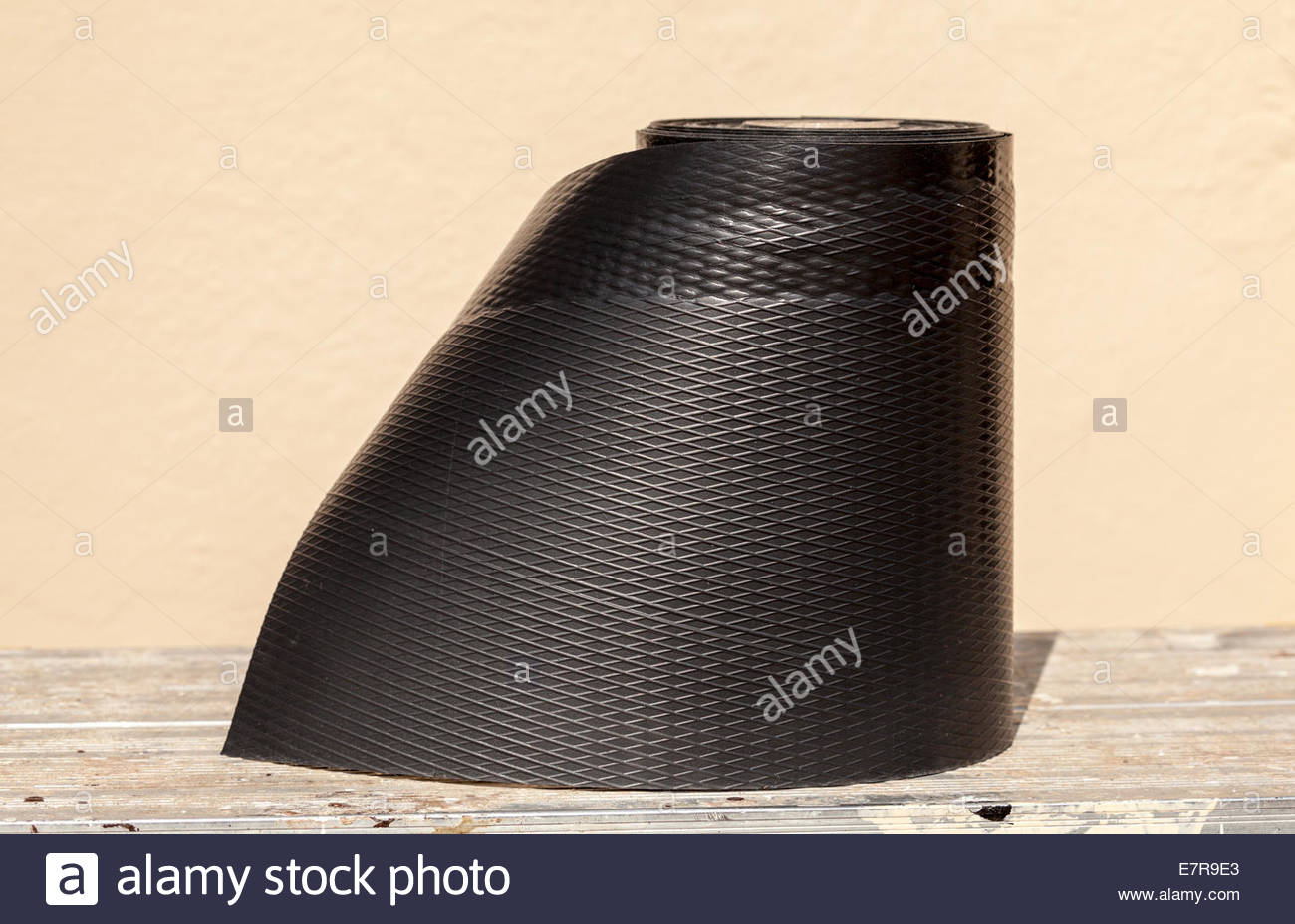 A roll of damp proof course Stock Photo