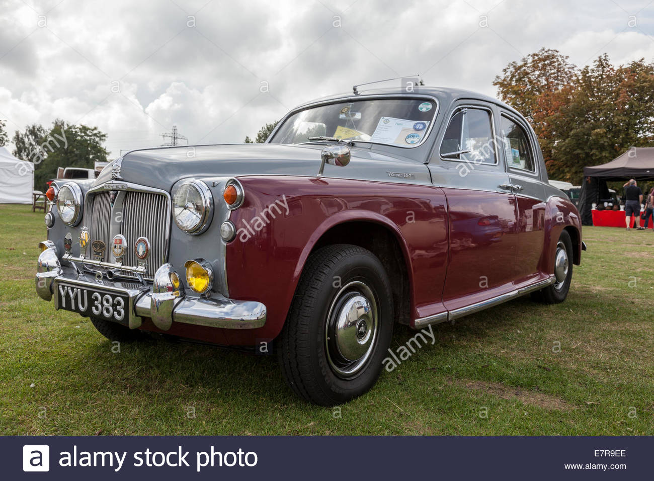 Rover 100 on show at a classic car event - year of manufacture 1960 Stock Photo