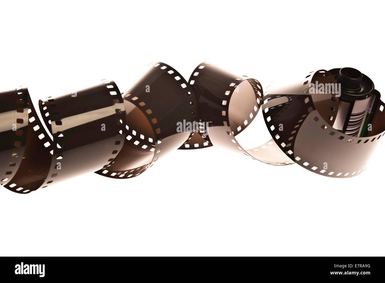 photographic film - Stock Image