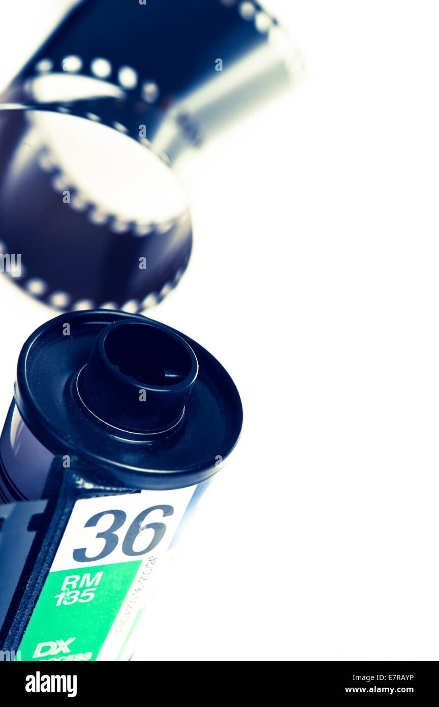 photographic film strip - Stock Image