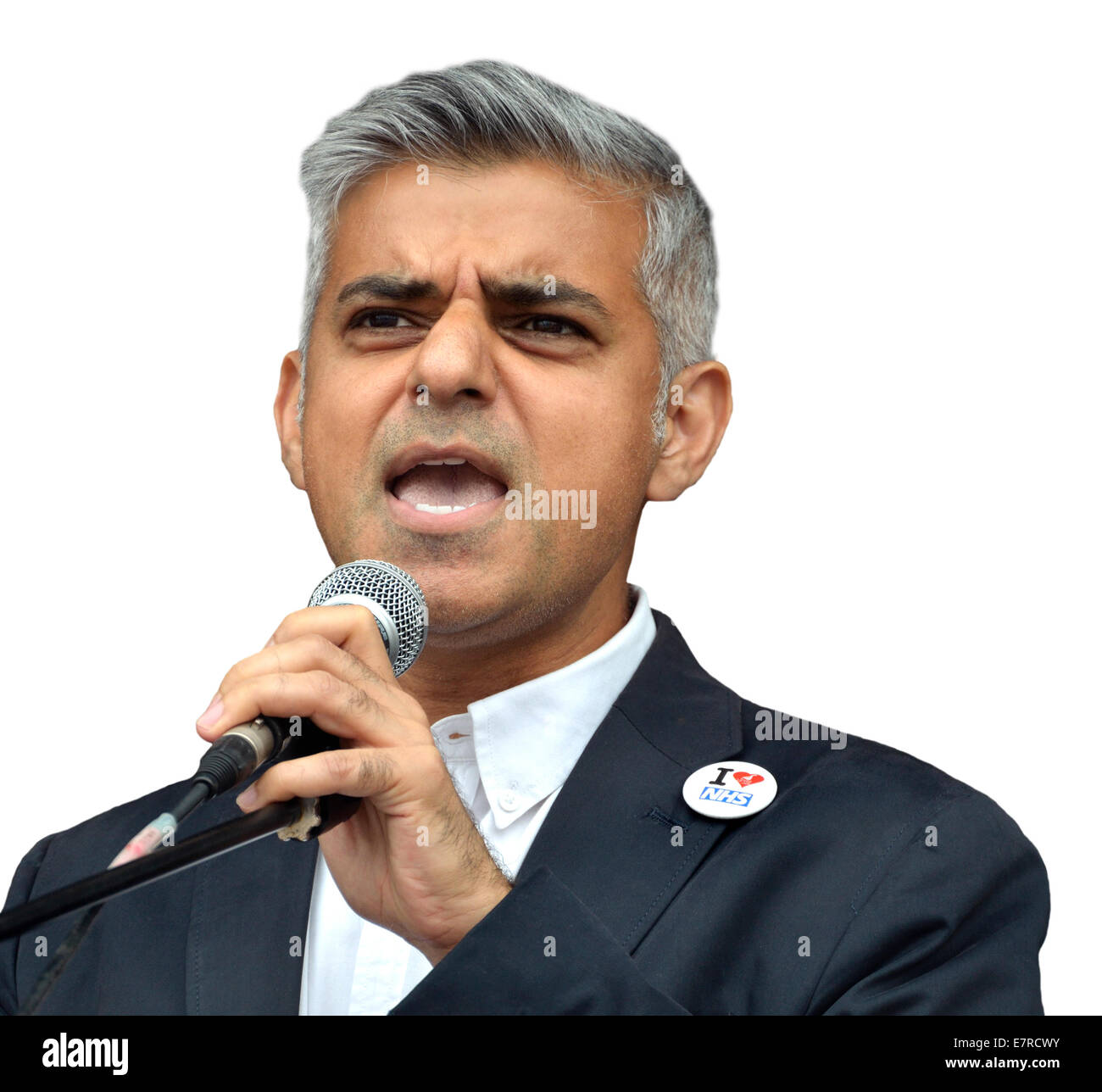 Sadiq Khan MP (Labour, Tooting) Shadow Secretary of State for Justice - Stock Image