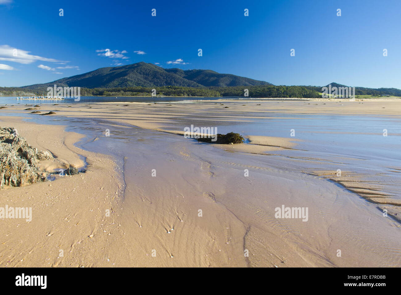 Sandbar Waterflow - Stock Image