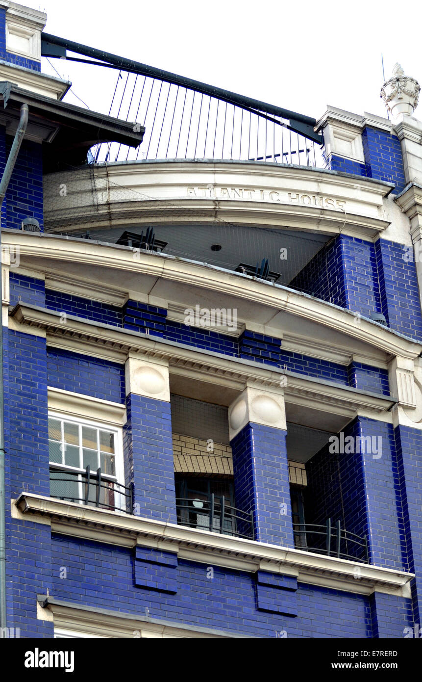 London, England, UK. Atlantic House, 3-5 Wardour Street, Soho W1D 6PB. - Stock Image