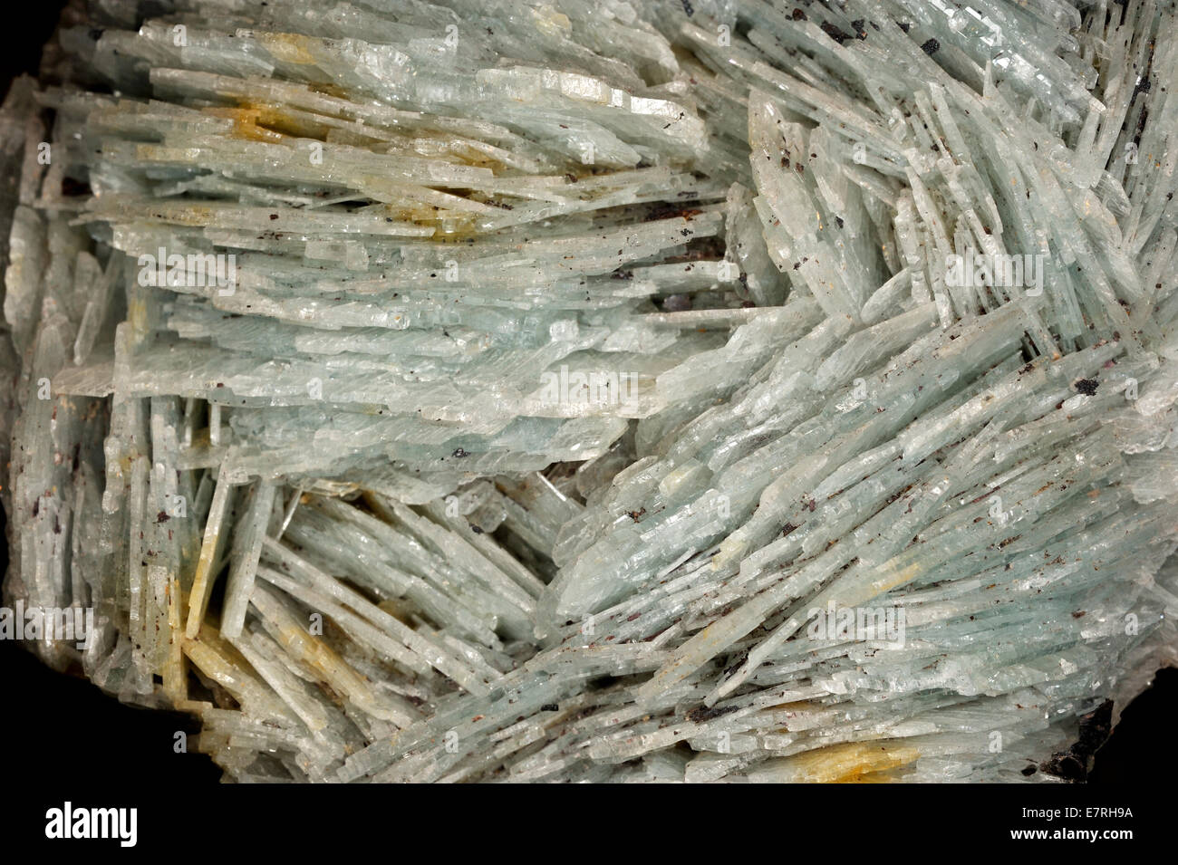 Barit with fumè  quartz, Minas Gerais, Brasile, South America - Stock Image