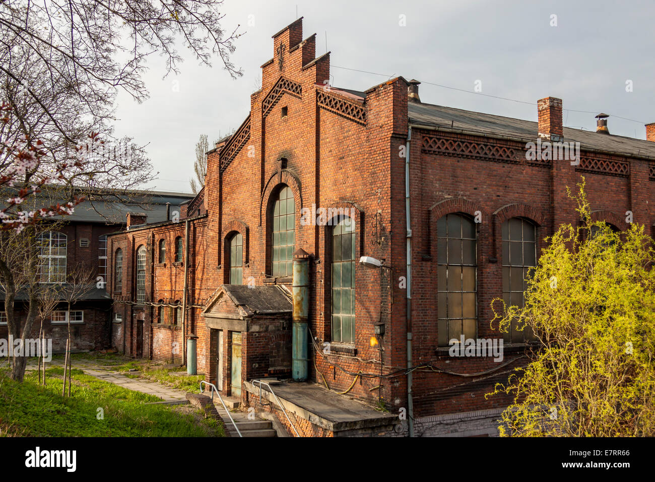 Buildings of coal mine - Rybnik (Rymer), Poland. - Stock Image