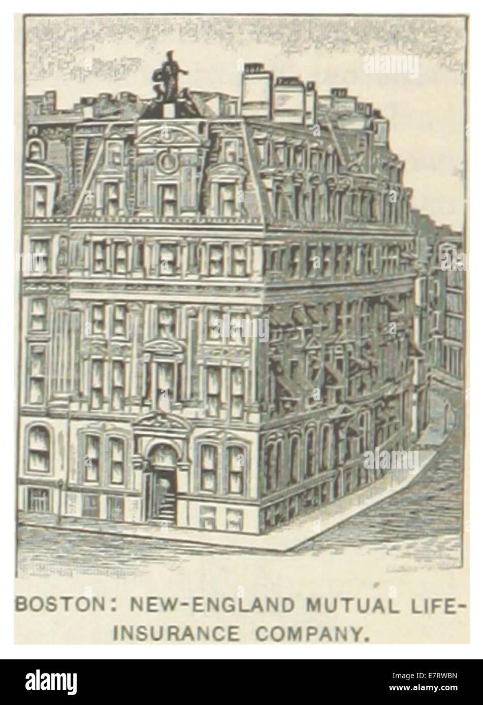 new england mutual life insurance company US-MA(1891) p372 BOSTON, NEW-ENGLAND MUTUAL LIFE INSURANCE COMPANY ...