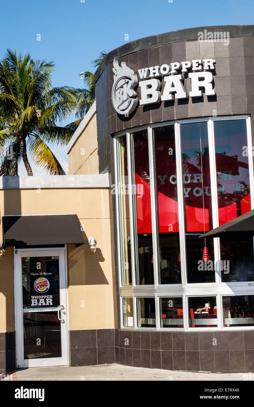 Miami South Beach Fast Food