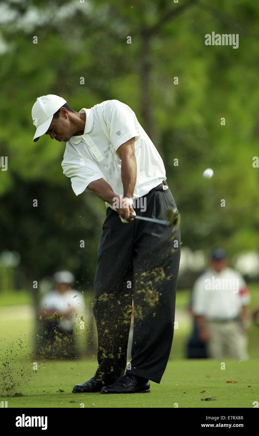 Orlando Florida Usa 18th Feb 2007 Tiger Woods During National