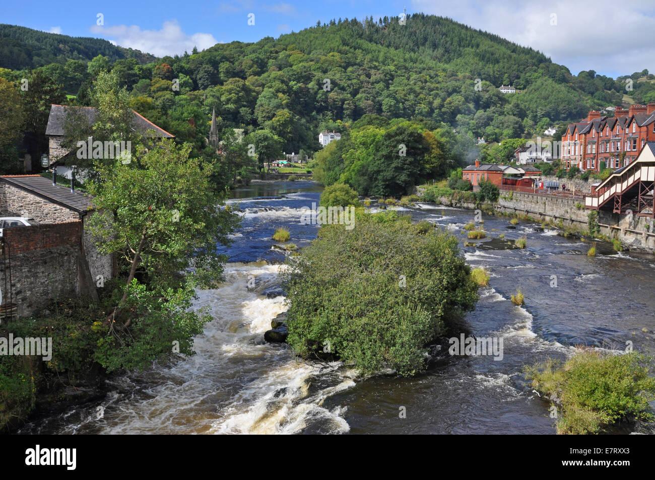 Llangollen, Wales Stock Photo