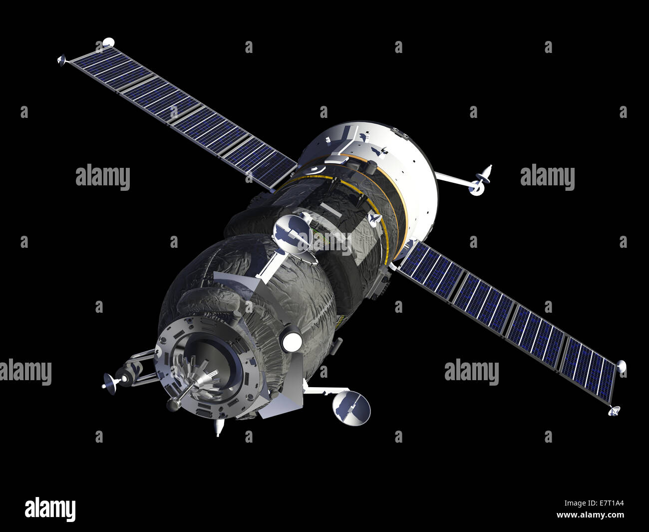 Spacecraft 'Progress' - Stock Image