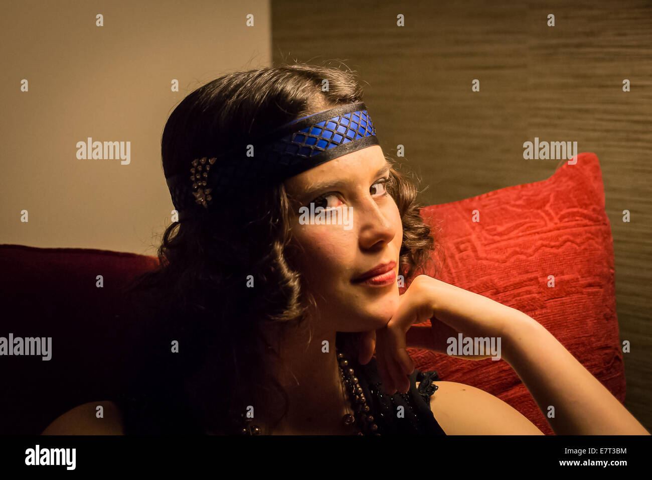 Twenties Party - Stock Image