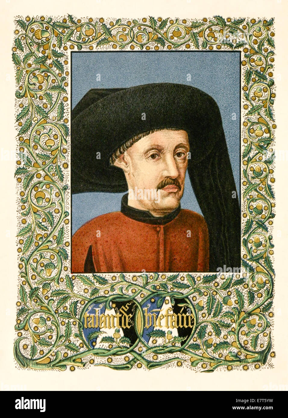 Henry of Portugal (1394-1460), aka 'Henry the Navigator' responsible for Portuguese maritime exploration. - Stock Image