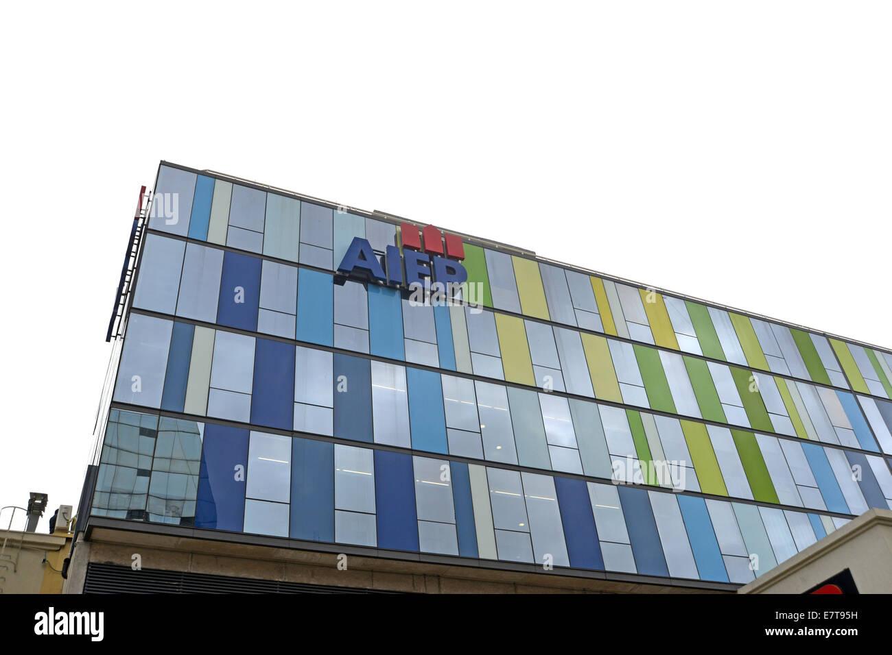 AIEP de la Universidad Andres Bello Valparaiso Chile - Stock Image