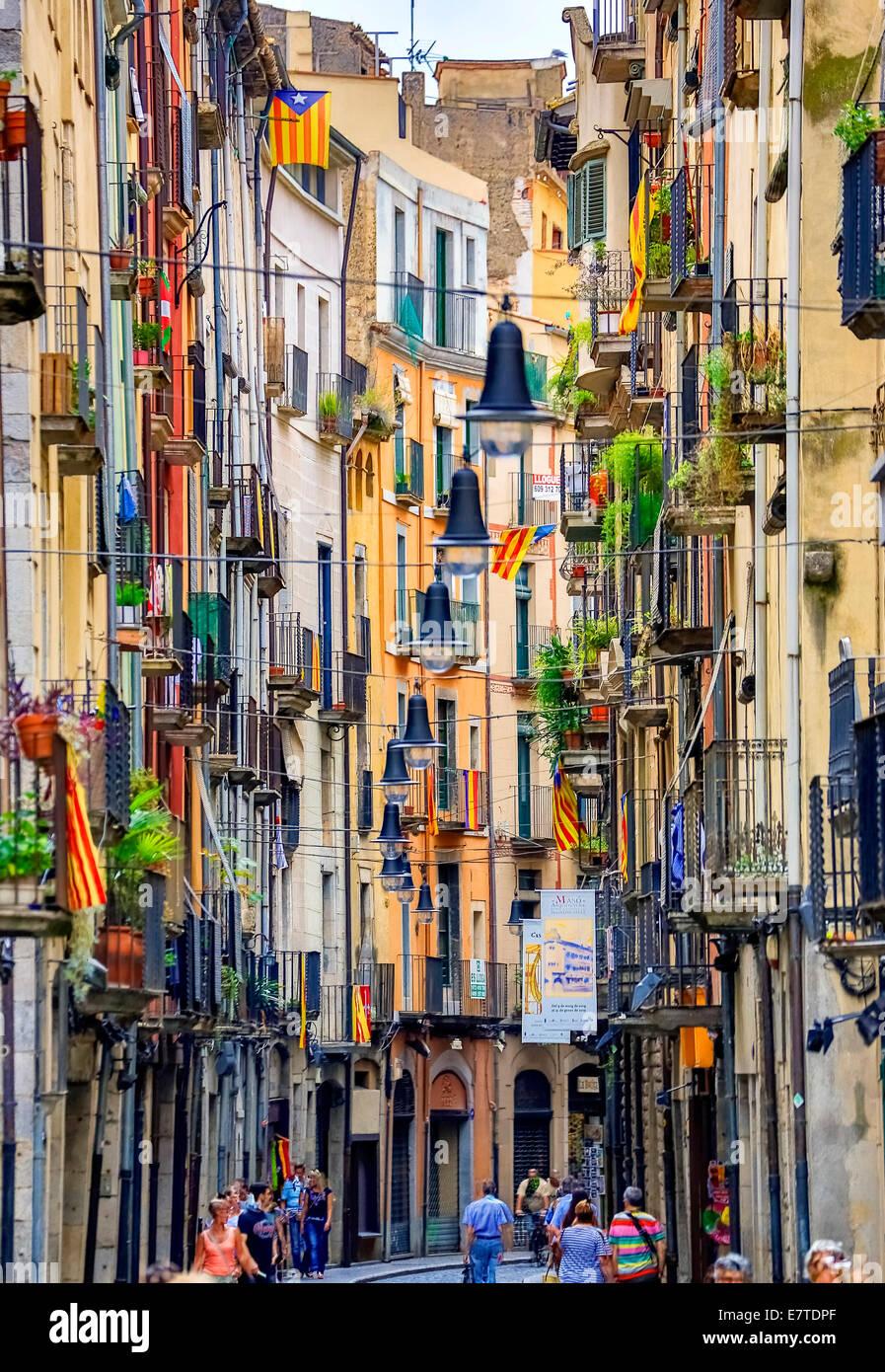 Girona Spain Historic Stock Photos & Girona Spain Historic ...