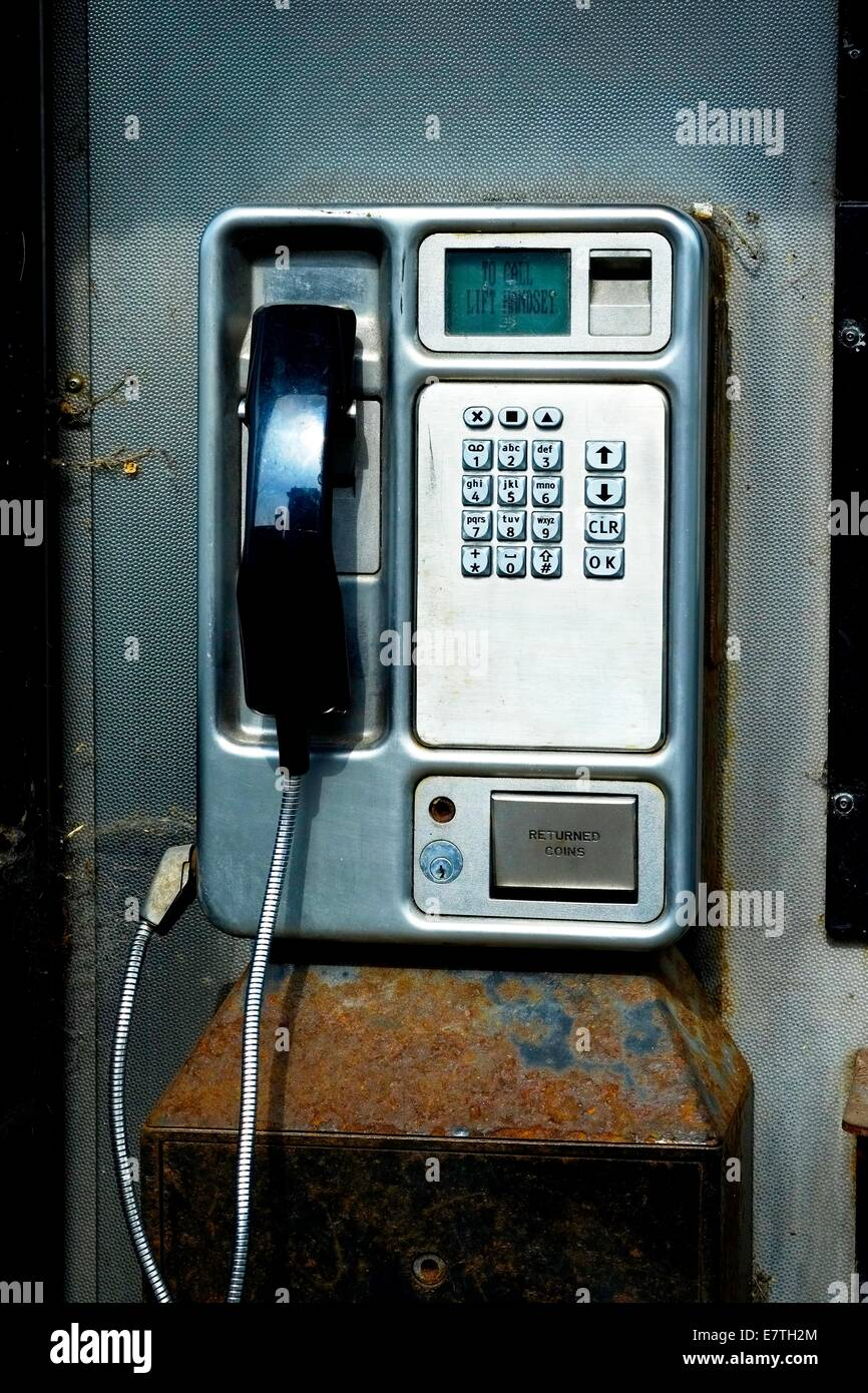 Inside Phone Box Stock Photos Images Alamy Bt Connection Wiring A Public Telephone Booth England Uk Image