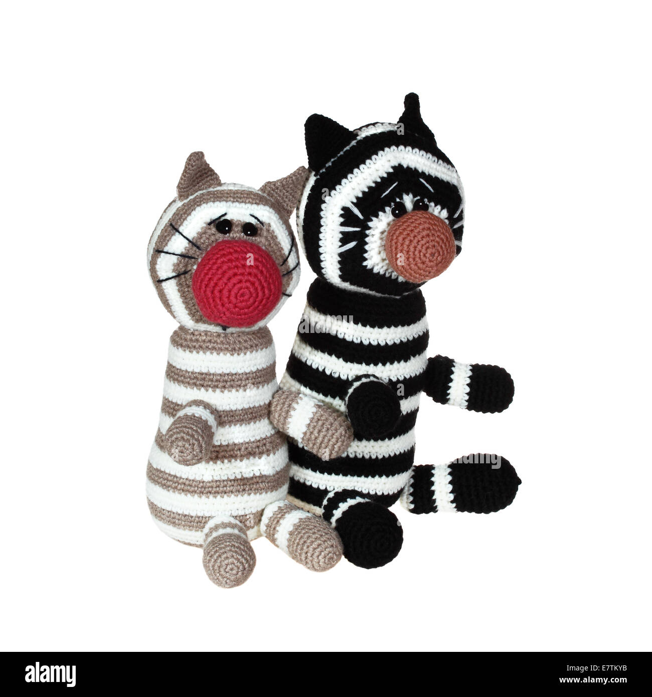 Soft Toy Cat White Background Stock Photos & Soft Toy Cat White ...