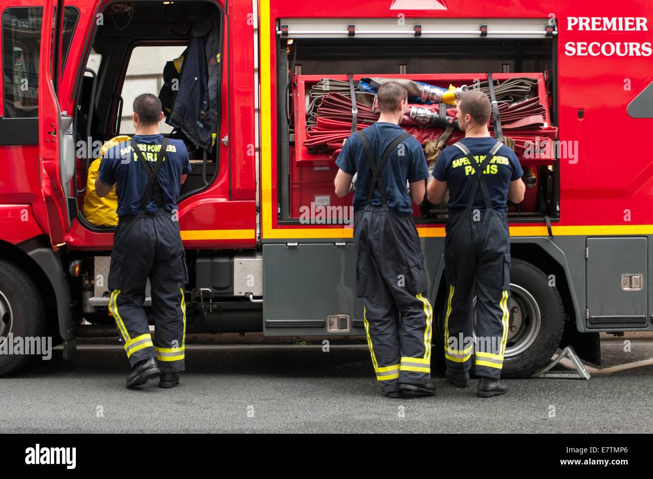 French firemen i