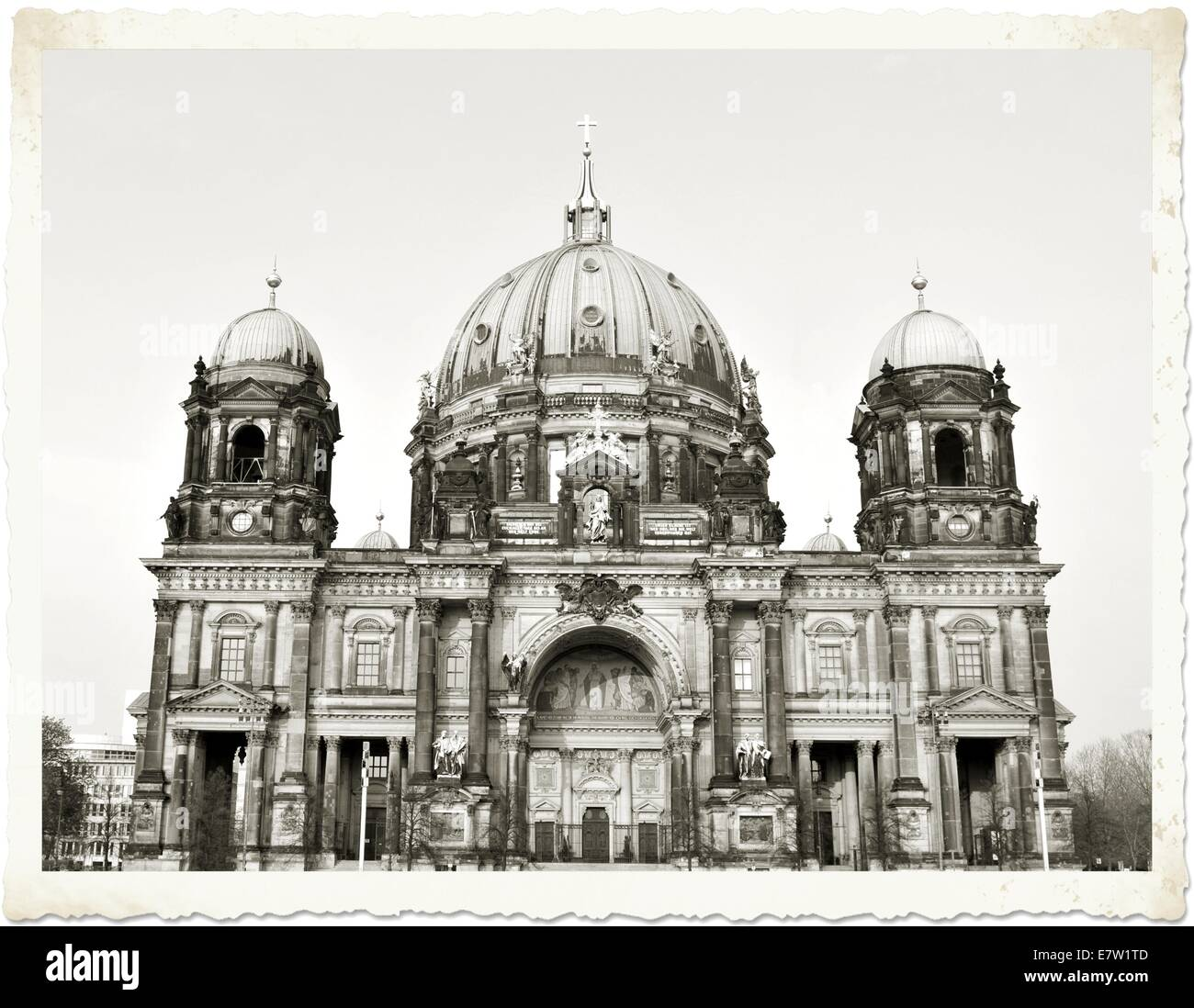 Berlin Cathedral - Stock Image
