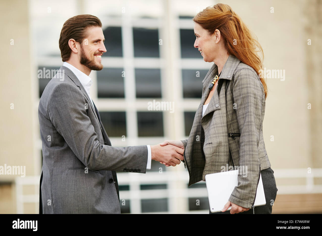 Greeting Each Other Stock Photos Greeting Each Other Stock Images