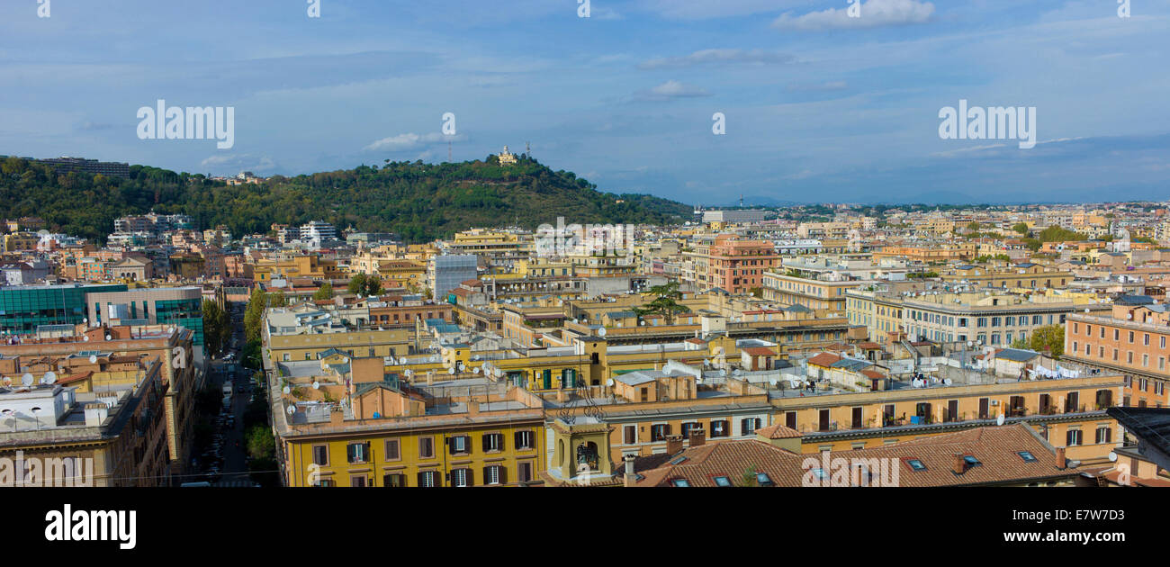 Rooftops, Rome, Italy. - Stock Image