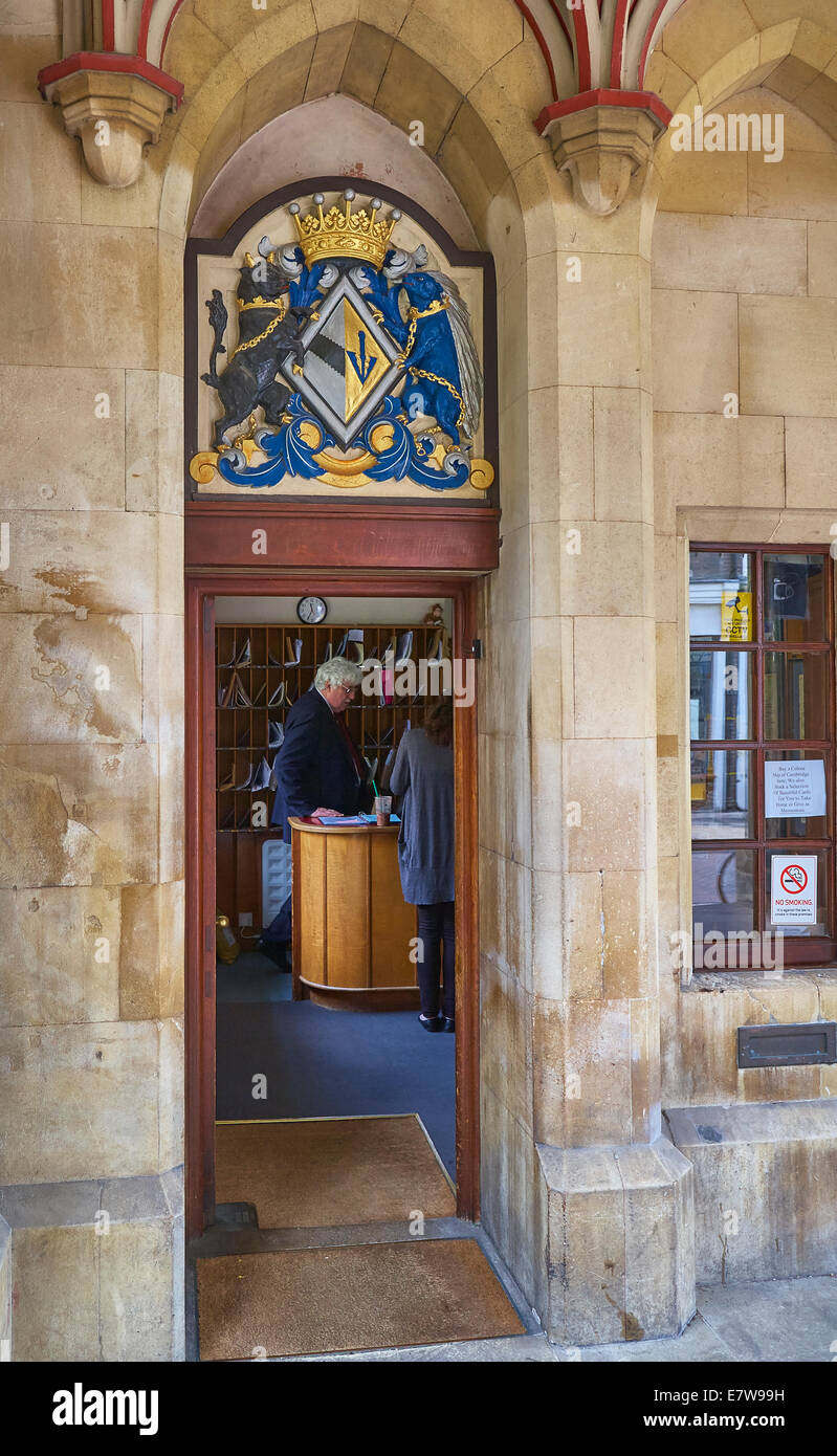 Masters Lodge St John's College Cambridge - Stock Image
