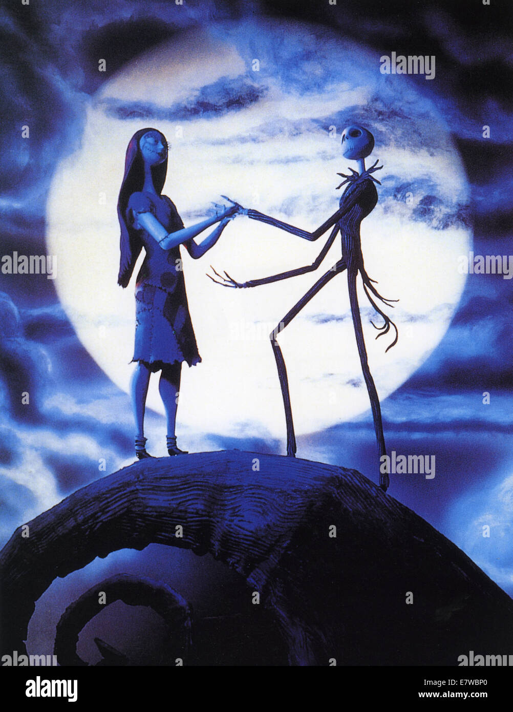 THE NIGHTMARE BEFORE CHRISTMAS 1993 Touchstone Pictures film ...
