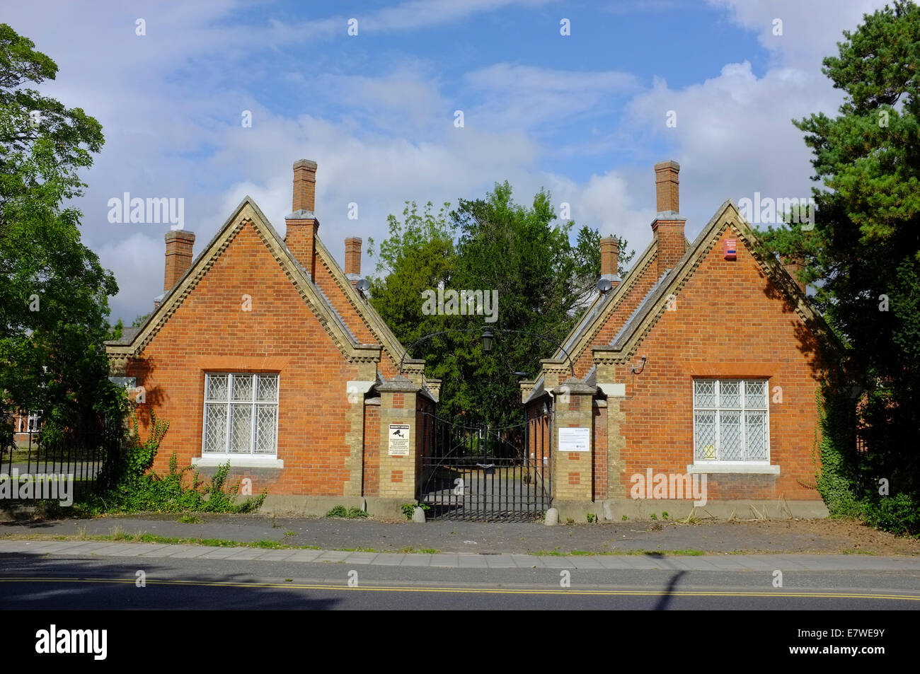 Tindal Centre a psychiatric secure unit in Aylesbury, Buckinghamshire, UK - Stock Image