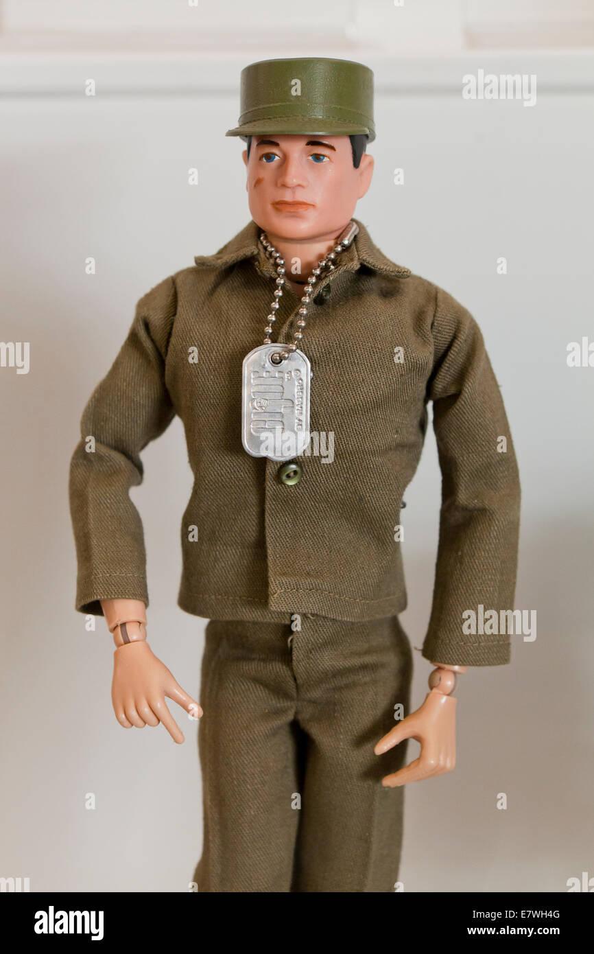 Vintage GI Joe action figure - USA