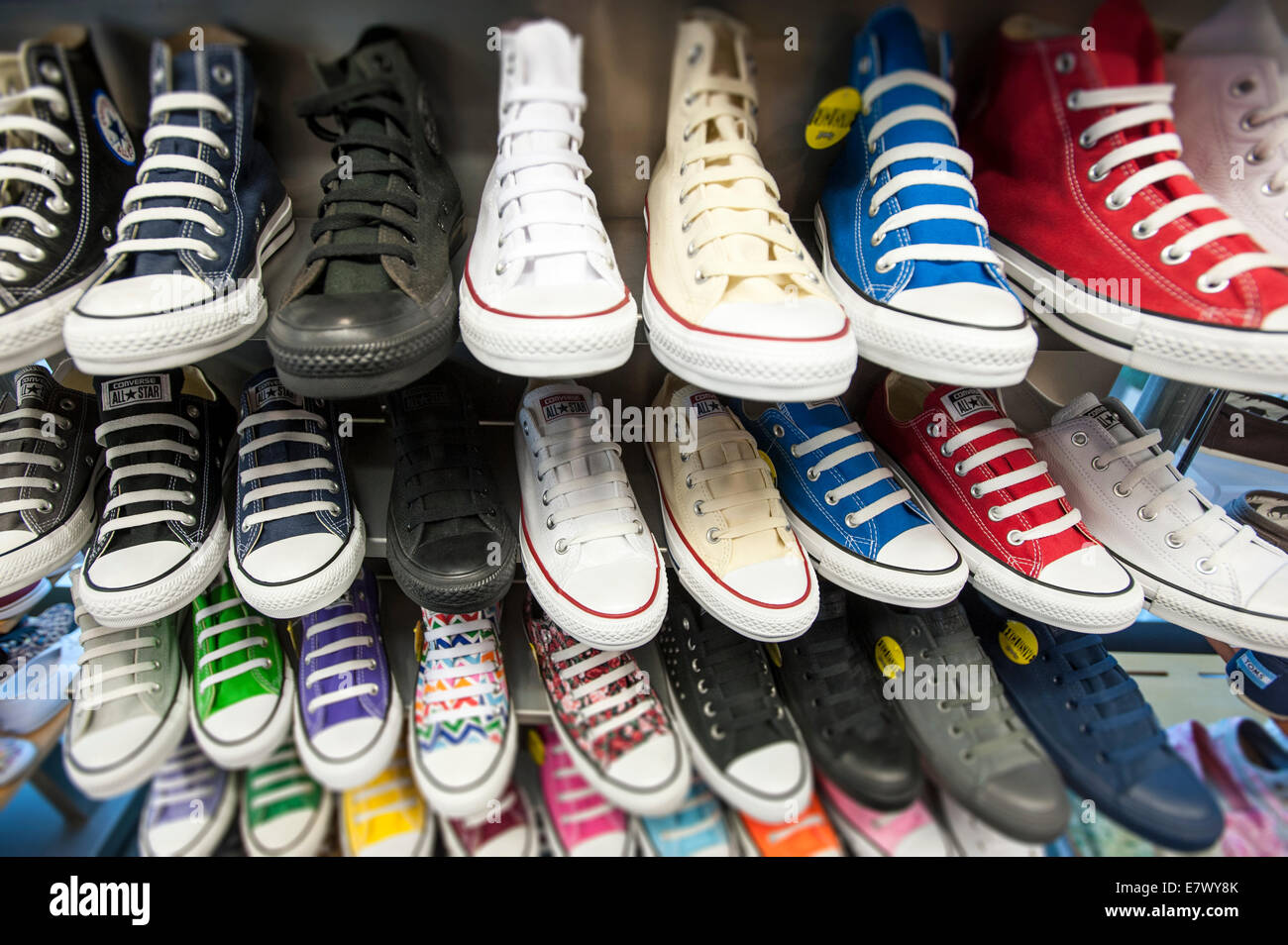 Converse All Star - Stock Image